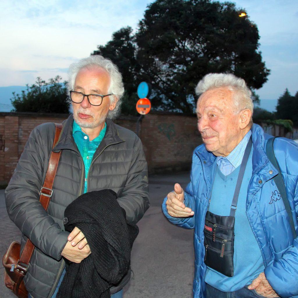 Dietmar Gnedt und Luciano Franceschetti
