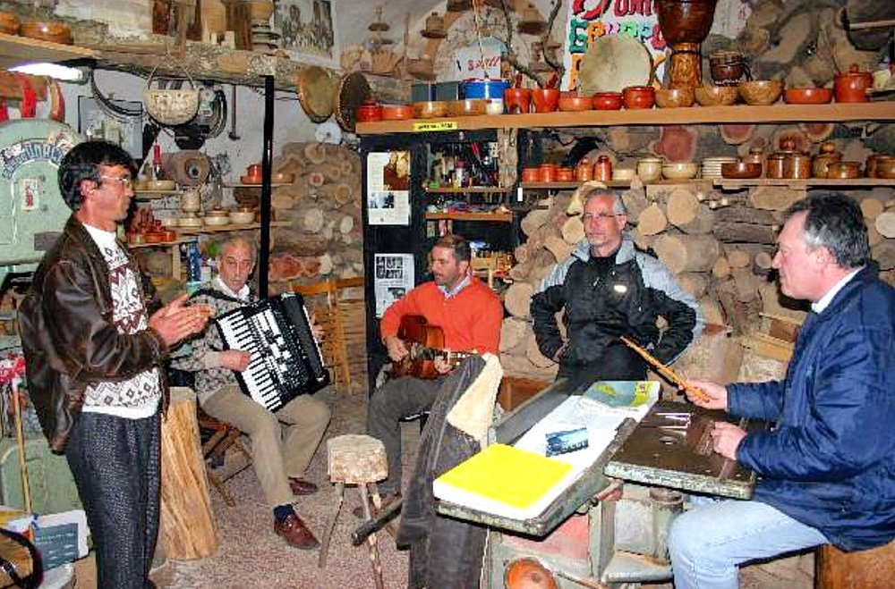 Lesung in Apulien, Italien