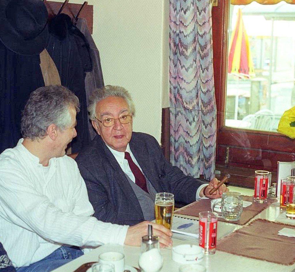 Lesung mit Milo Dor, Wien
