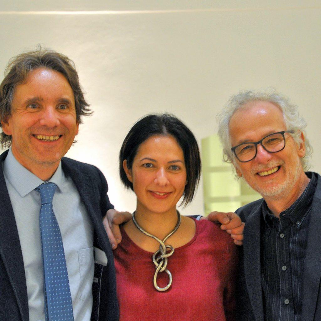 Schulprojekt zu Balkanfieber: Johannes Thier, Jelena Manojlović und Dietmar Gnedt